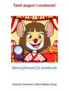 Bennybenex@Lovebook - Tanti auguri Lovebook!