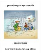 sophie Evers - geronimo gaat op vakantie