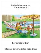 Periodista Stilton - Actividades para las Vacaciones 2