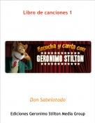 Don Sabelotodo - Libro de canciones 1