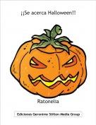 Ratonelia - ¡¡Se acerca Halloween!!