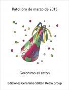 Geronimo el raton - Ratolibro de marzo de 2015