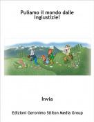Invia - Puliamo il mondo dalle ingiustizie!