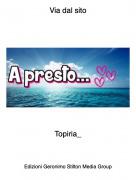 Topiria_ - Via dal sito