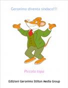 Piccola topa - Geronimo diventa sindaco!!!