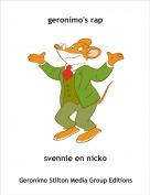 svennie en nicko - geronimo's rap