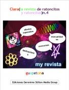 guapetona - Clara(la revista de ratoncitos y ratoncitas)n.4