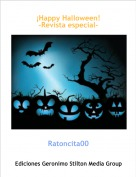 Ratoncita00 - ¡Happy Halloween!-Revista especial-