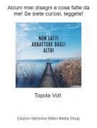 Topola Volt - Alcuni miei disegni e cose fatte da me! Se siete curiosi, leggete!