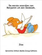 Ziza - De eerste woordjes van Benjamin uit een leesboek.