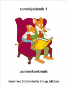 pannenkoekmuis - sprookjesboek 1