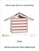 Stuka - Libros que leer en cuarentena