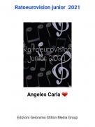 Angeles Carla ❤ - Ratoeurovision junior 2021