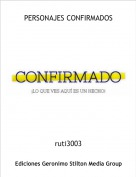 ruti3003 - PERSONAJES CONFIRMADOS