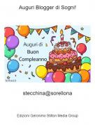 stecchina@sorellona - Auguri Blogger di Sogni!