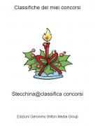 Stecchina@classifica concorsi - Classifiche dei miei concorsi