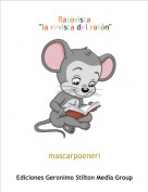 """mascarpoeneri - Ratovista """"la revista del ratón"""""""