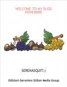 SERENASQUIT:) - WELCOME TO MY BLOG NOVEMBRE