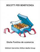 Giulia Fontina de scamorza - BISCOTTI PER BENEFICENZA