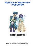 tenebrosa lettrice - MESSAGGIO IMPORTANTE +CONCORSO