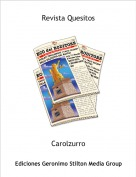 Carolzurro - Revista Quesitos