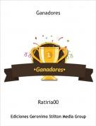 Ratiria00 - Ganadores