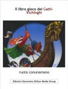 ruota conunamano - Il libro gioco dei Gatti-Vichinghi