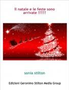 sonia stilton - Il natale e le feste sono arrivate !!!!!!