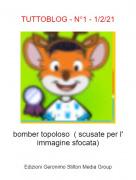 bomber topoloso ( scusate per l' immagine sfocata) - TUTTOBLOG - N°1 - 1/2/21