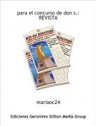 mariaoc24 - para el concurso de don s.:REVISTA