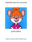 giulia topina - Classifica del mio concorso