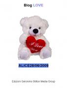 ALICE28/06/2009 - Blog LOVE