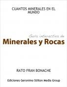 RATO FRAN BONACHE - CUANTOS MINERALES EN EL MUNDO