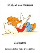 doenie2006 - DE KRANT VAN BENJAMIN