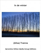 (Alisa) Yvanna - In de winter