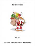 tea stil - feliz navidad