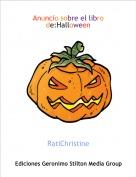 RatiChristine - Anuncio sobre el libro de:Halloween