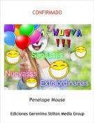 Penelope Mouse - CONFIRMADO