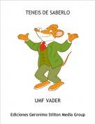 UMF VADER - TENEIS DE SABERLO