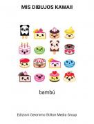 bambú - MIS DIBUJOS KAWAII