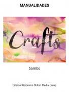 bambú - MANUALIDADES