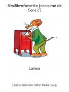 Lalima - #milibrofavorito (concurso de Sara C)