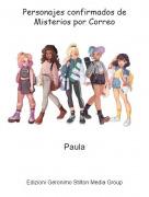 Paula - Personajes confirmados de Misterios por Correo