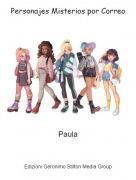 Paula - Personajes Misterios por Correo