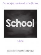 Elena - Personajes confirmados de School