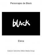 Elena - Personajes de Black