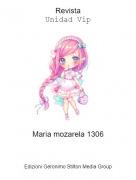 Maria mozarela 1306 - RevistaUnidad Vip