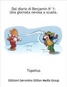 Topelius - Dal diario di Benjamin N°1:Una giornata nevosa a scuola.