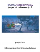guapetona - REVISTA SUPERRATONICA(especial halloween)n.2
