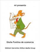 Giulia Fontina de scamorza - mi presento